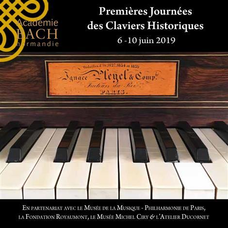 Premières Journées des Claviers Historiques